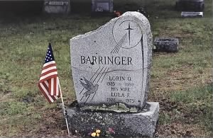 Grave of Lorin O. Barringer