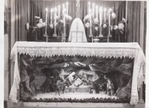 Jim Potts Photo of CHRISTMAS MASS 1944