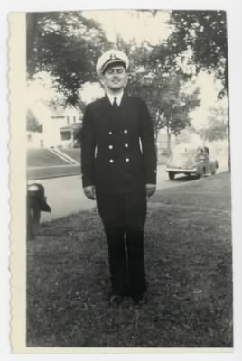 William E. Prettyman in uniform