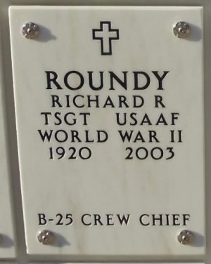 Richard Ross Roundy Gravesite