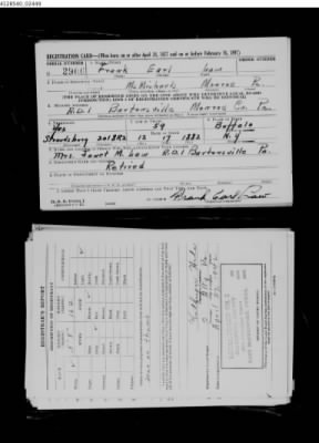 WWII Draft Registration