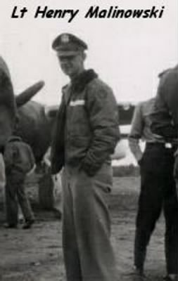 Lt Henry Malinowski, B-25 Ciombat Crew 310th Bomb Group, 380th BS KIA 4 Apr'45