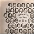 Bill's 1935 Tippecanoe City High School graduating class