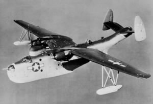 "Martin PBM Type ""Flying Boat"" for Patrol, John Swofford was a NAVY Pilot"
