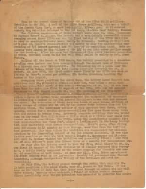 Diary of 979th FA Bn Battery B Pg 1.jpg