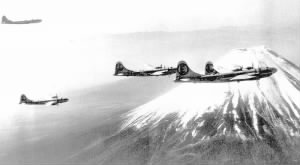 504th_Bombardment_Group_over_Mount_Fuji_1945