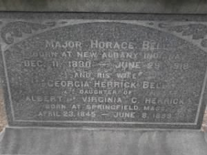Major Horace C Bell Grave 2