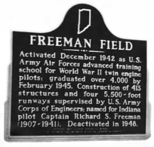Freeman Field Historical Marker