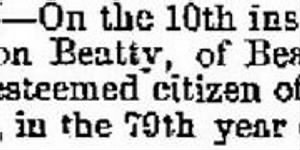 Hamilton Beatty 1871 Death Notice.JPG