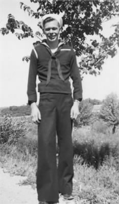 Kenneth Martin Koehnen in his Navy Uniform
