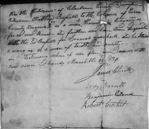 Gray Garrett 1834 Rev War Pension App Rec.JPG