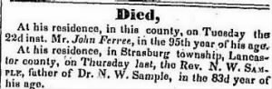 Nathaniel Sample Rev Jul 1834 Death Notice2.JPG