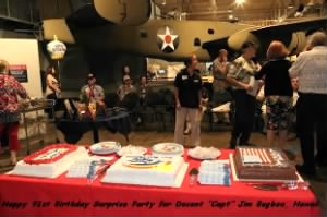 Birthday Party and Celebrations/West PAC, Jim Bugbee is 91, Hawaii