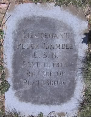 Lieut Peter Gamble Navy Headstone