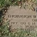 Thornton White Chappelear Headstone 1896-1965