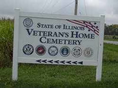 State of Illinois Veterans Home Cemetery ILL