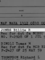 Jones, Billie R