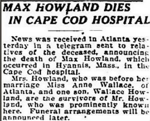 Max F Howland 1921 Death Notice.JPG