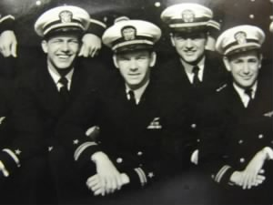 Frank with other pilots