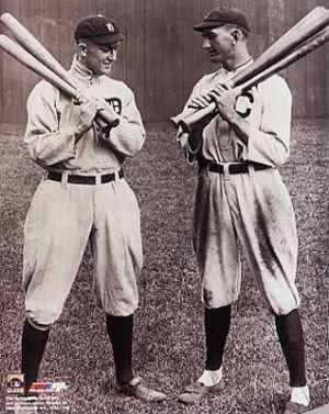 Ty Cobb-Shoeless Joe Jackson