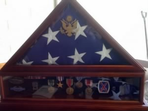 WW II metals, including Silver Star of Del E. Brady