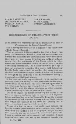 Memorials Against Calling a Convention, 1779 › Page 321 - Fold3.com