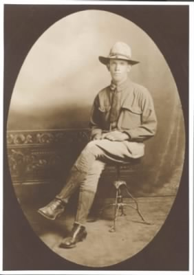 David Perry Steely ca. 1918