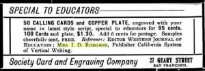 I D Rodgers Ref in 1900 Western Journ of Ed Ad.JPG