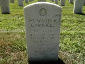 Burial of Sgt Howard Vincent Campbell Sr
