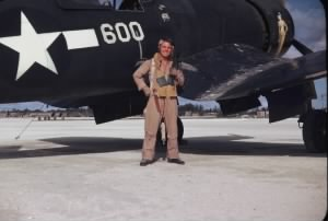 LT Donald R. Wilson and FG-1D Corsair