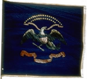 Flag for the 129th Infantry