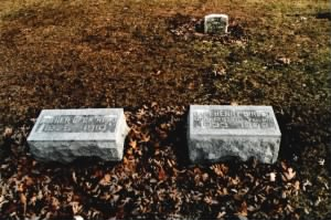 Henry B Reed and Esther (Beck) Reed Gravestones
