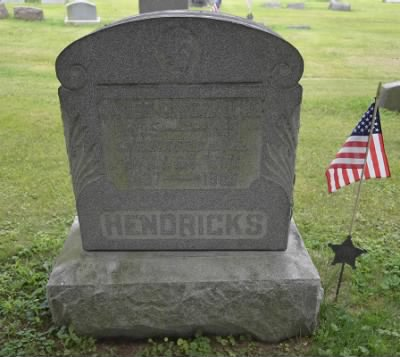 Gravemarker - James C Hendricks