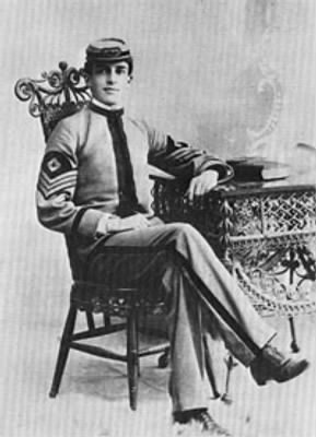 Douglas MacArthur as a student at West Texas Military Academy in the 1890s