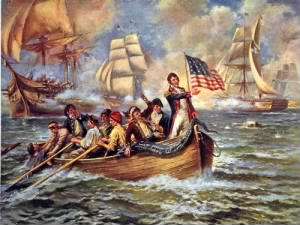 Oliver Hazard Perry at the Battle of Lake Eri