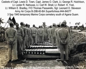 Lt. George Hutchison and Crew Burial