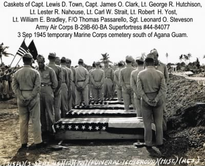 Lt. George Hutchison and Crew Burial - Fold3.com