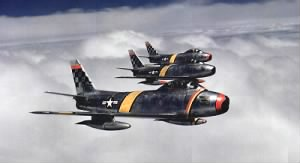 Col_Ben_O._Davis_leads_F-86_flight_(51st_FIW,_Korea).jpg