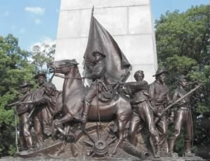 State of Virginia Monument at Gettysburg Closeup.png