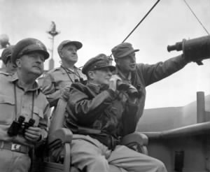McArthur (seated) and Almond (pointing).jpg