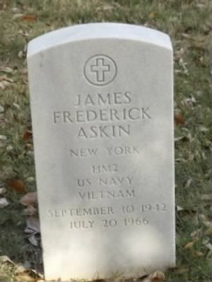 JAMES FREDERIC ASKIN