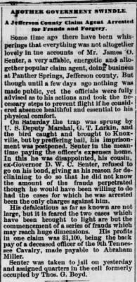James O Senter Arrested Knoxv Chron 8 Apr 1873.jpg