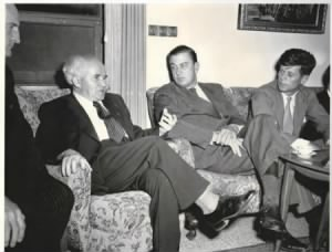 David Ben-Gurion, Franklin Delano Roosevelt, Jr., and Congressman John Kennedy.jpg