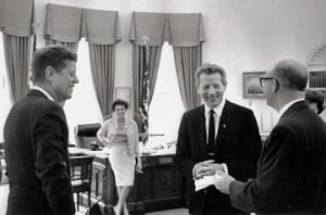 KennedyGarland Danny Kaye and presidential aide Dave Powers.jpg