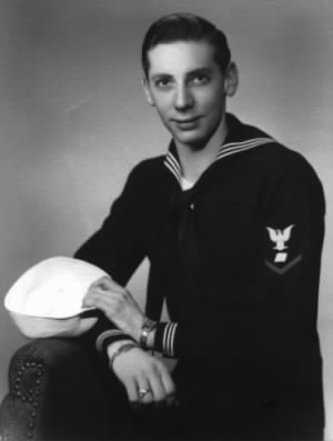 Walter R Wisnicky in Navy Blues 1947
