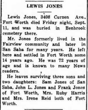 Lewis Jones Obit San Saba News 24 Sep 1931.JPG