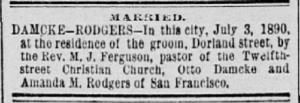 Damcke-Rodgers 1890 Marriage Notice.JPG