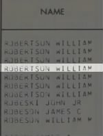 Robertson, William