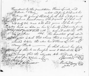 Marriage Bond Between Nancy Hanks and Thomas Lincoln.jpg