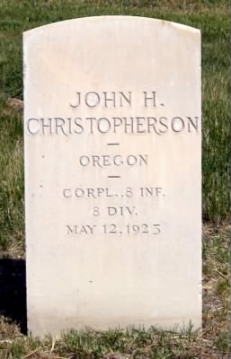 John Christopherson headstone close.jpg